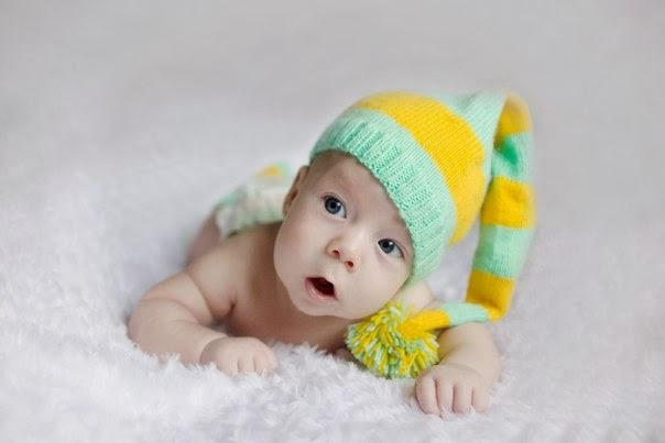 смешная шапочка для детских фотосессий