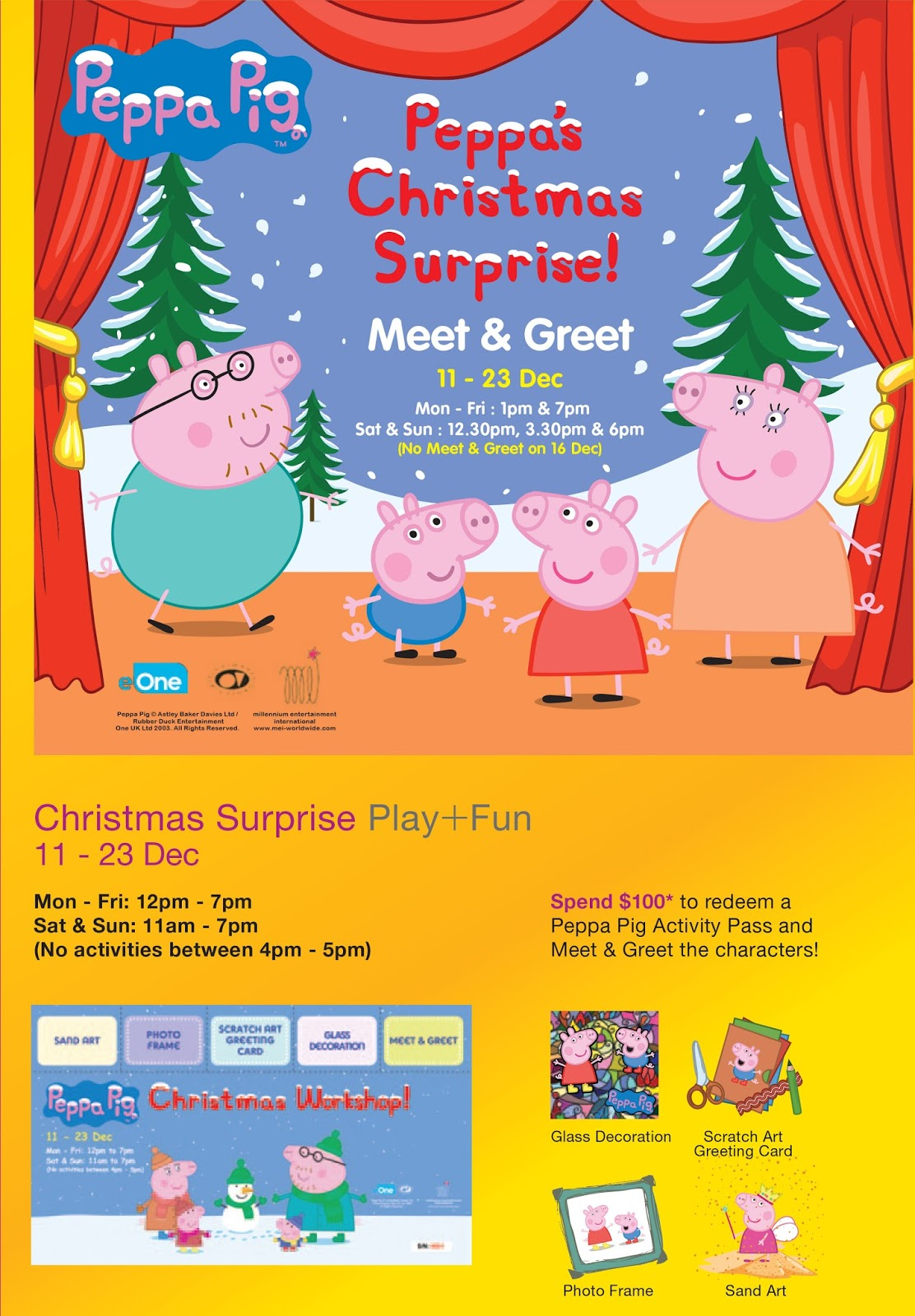 Iammommyflori Invite Peppas Christmas Surprise At Onekm Mall