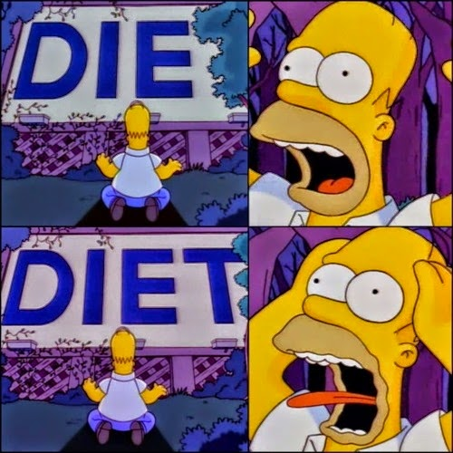 Dying is better than Diet