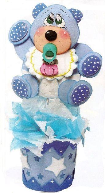 Manualidades en foami para baby shower ~ solountip.com