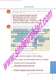 6.Sinif  Turkce Doku Yayinlari Ogrenci Calisma Kitabi Sayfa 25