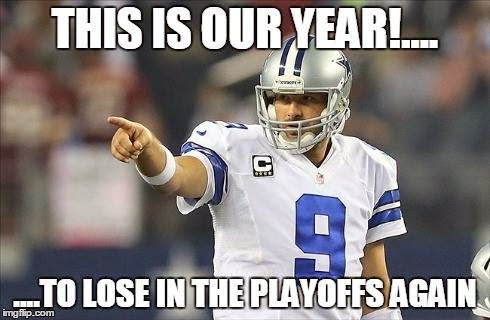 this is our year!... to lose in the playoffs again