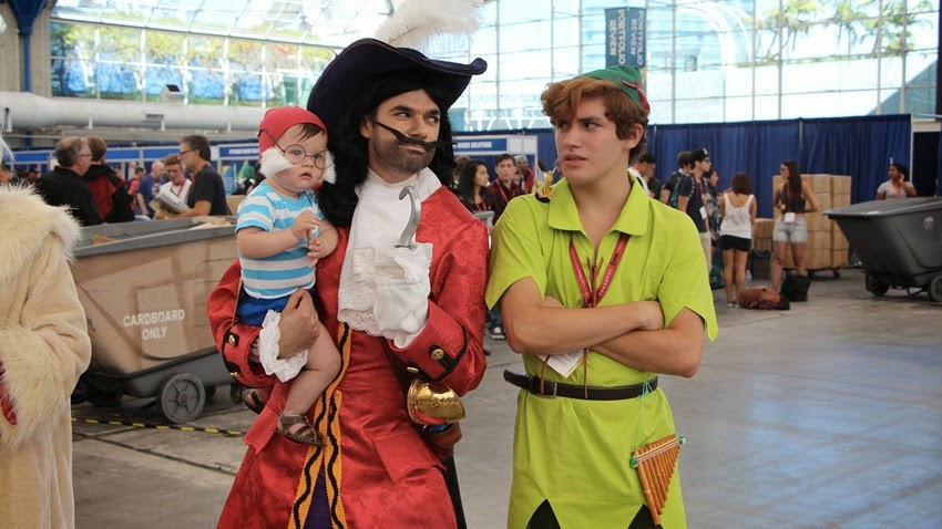 i survived the hall h line capt hook peter pan and a baby mr smee