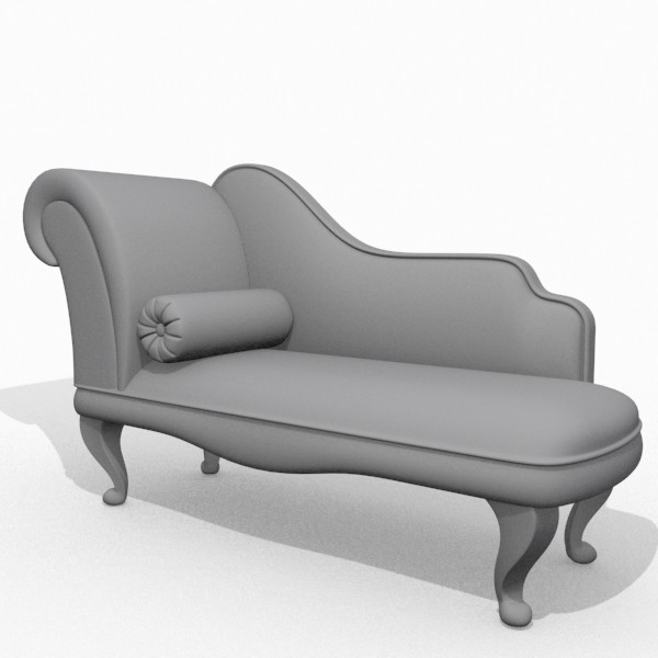 Ulhas Shinde Modern Chaise Lounge 3d