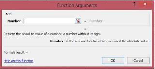 function argumen rumus ABS