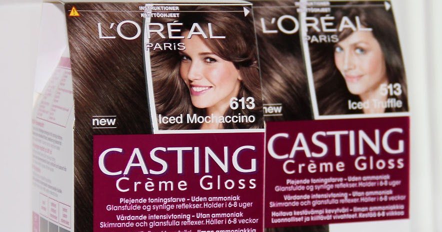 Hanni S L Oreal Casting Cr 232 Me Gloss Iced Chocolates