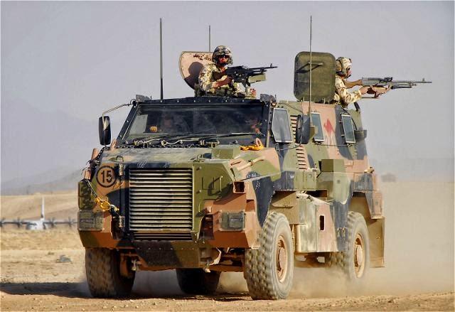 Mengenal Lebih Dalam MRAP Bushmaster Kopassus
