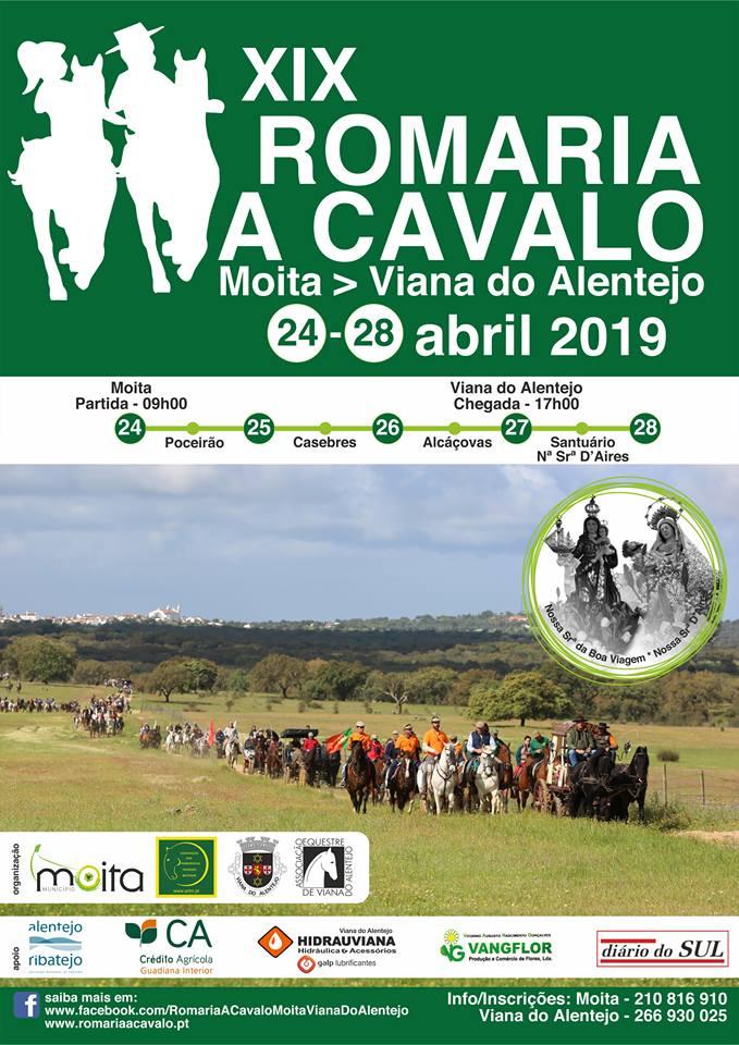 Romaria a Cavalo Moita- Viana do Alentejo 2019