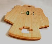 Bamboo Longboard Deck2