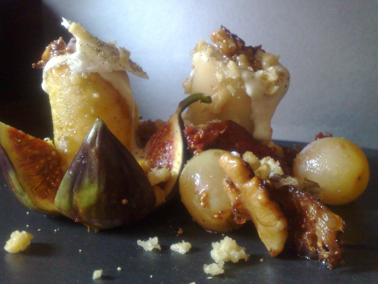 Pacchero, Montebore, fichi ed uva