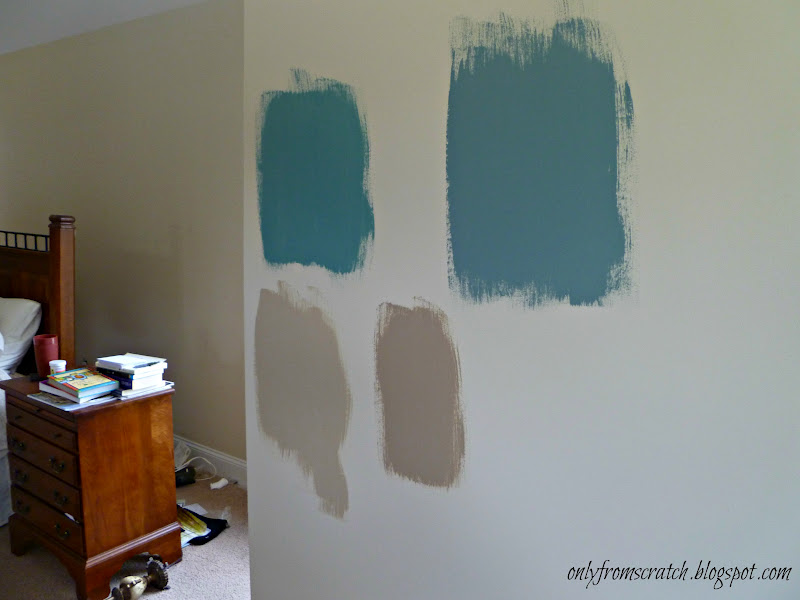 Teal And Tan Bedroom. tan and gray color scheme a rust inspired ...