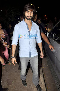 Shahid Kapoor, Karan Johar and others snapped at Olive