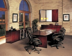Wood Veneer Conference Room Furniture