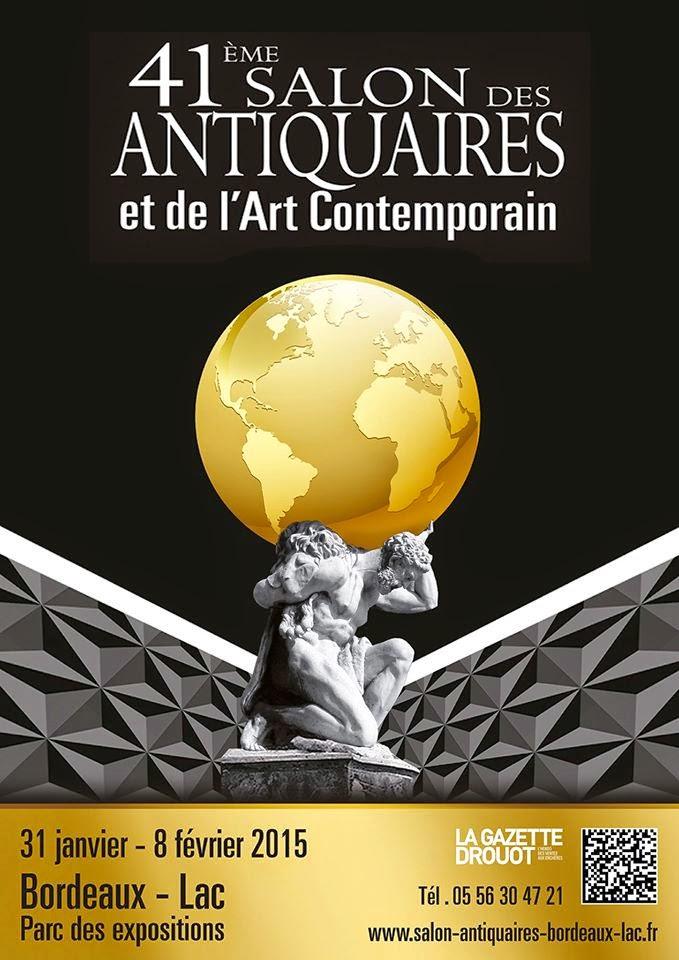 BORDEAUX : LA GALERIE LE FLOCH & LE FLOCH EXPOSE CAPTON AU 41ème SALON DES ANTIQUAIRES