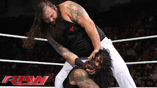 Wyatt Bray Roman Reigns WWE Raw Family Feud