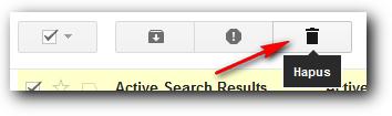 Hapus semua email masuk