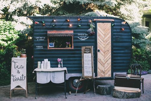 vintage camper food truck