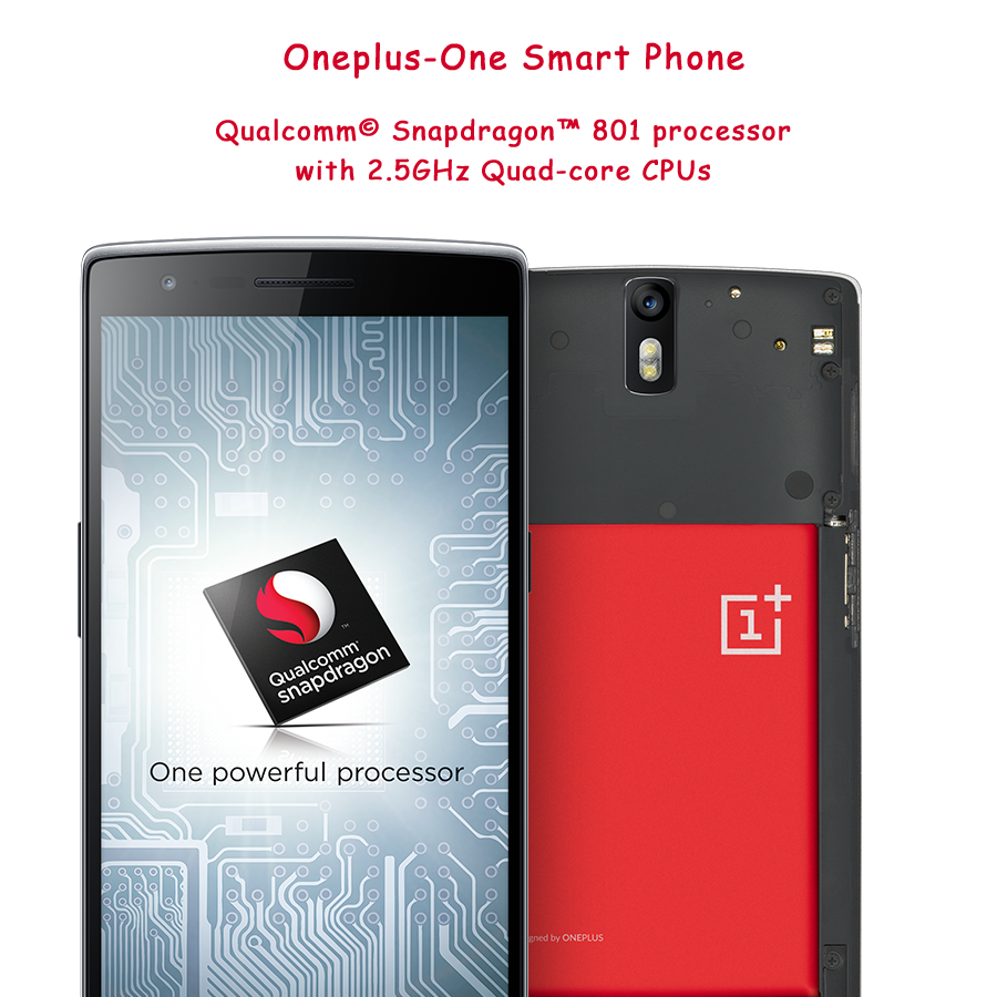 Processor of oneplus-one smartphone