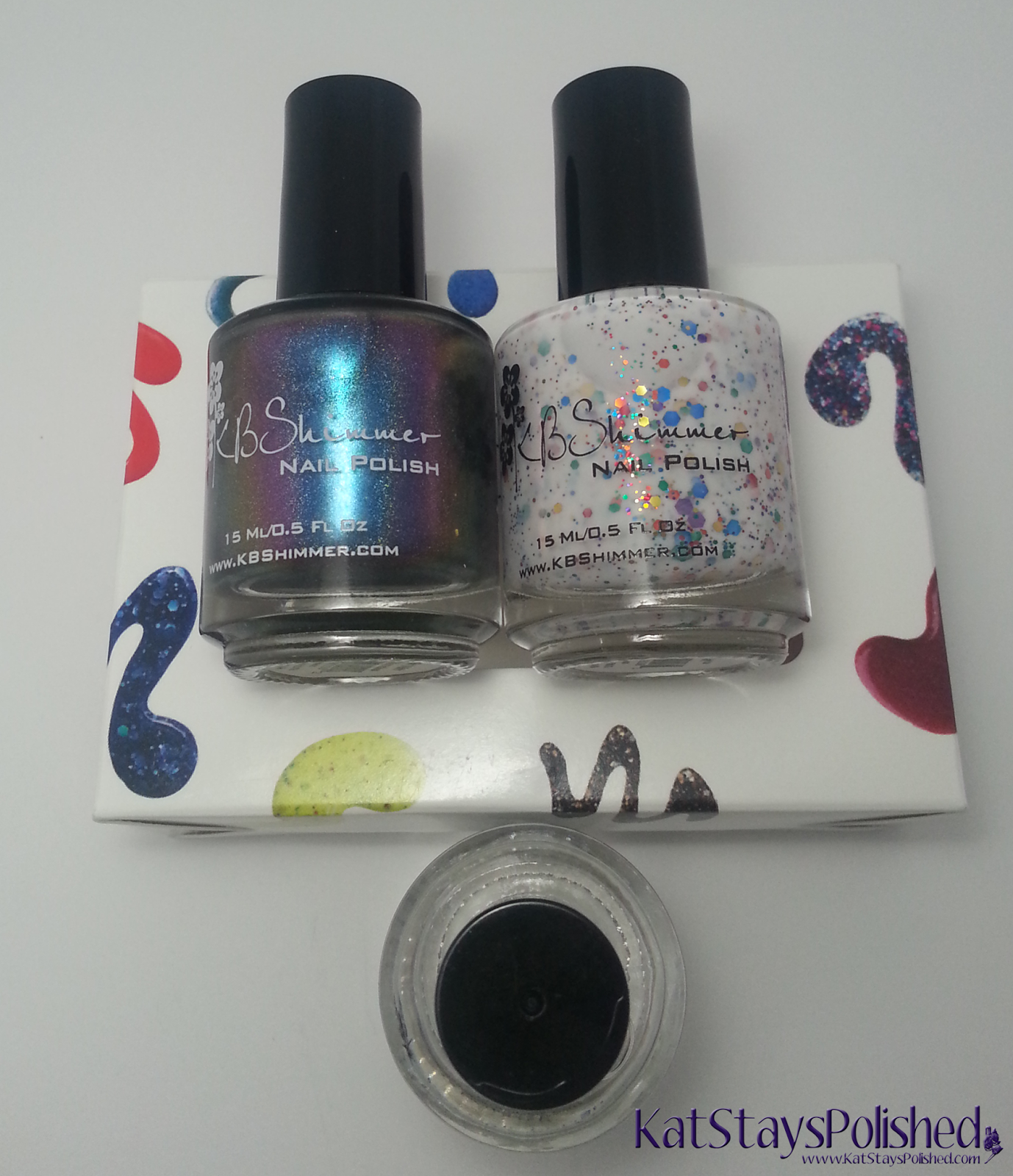 KBShimmer - Rollin' With the Chromies, Clearly on Top, Oh Splat! | Kat Stays Polished