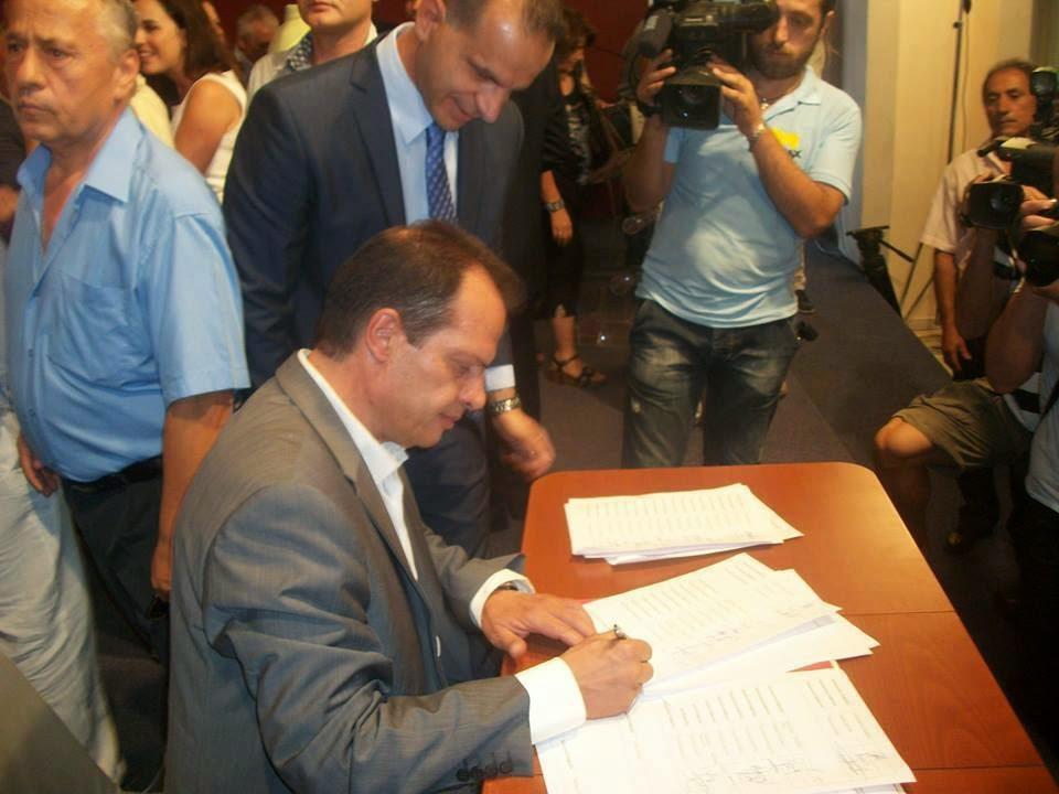 Ο Γιώργος Δέδες για την ορκωμοσία του Περιφερειακού Συμβουλίου Πελοποννήσου