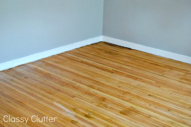 How to remove carpet and refinish wood floors part 1 classy clutter solutioingenieria Choice Image