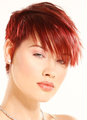 Short Red Hairstyles For Girl Short Hairstyles 2012