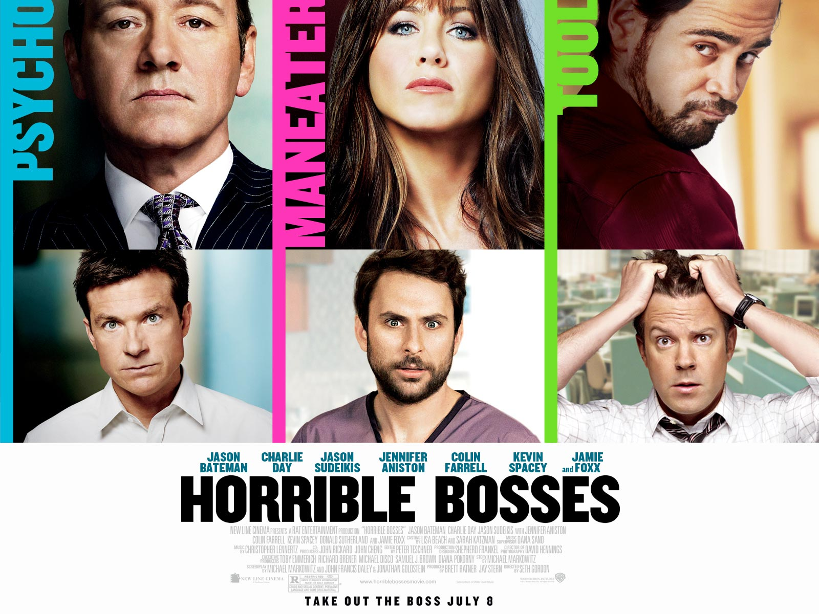 Horrible bosses kevin spacey promotional giveaways