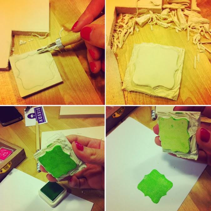 DIY carvado de sellos