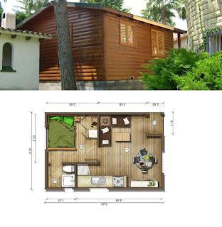 Casas de madera en espa a diciembre 2012 - Planos de casas en espana ...