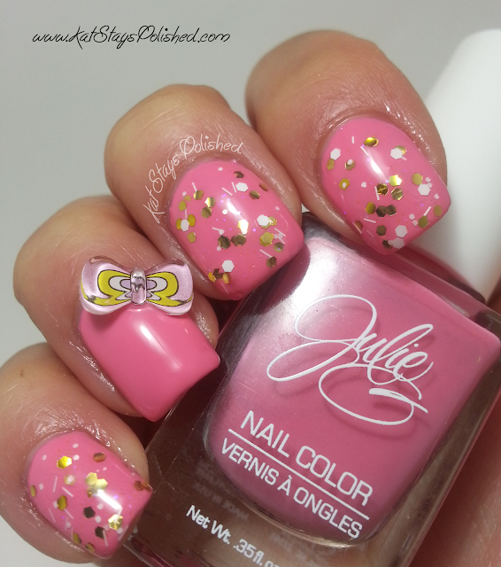 kkCenterHK Nail Art Bows-Glitter Polish | JulieG Shoe-a-Holic