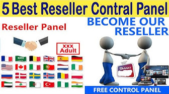 IPTV+CCCAM & MG With All Satellite Reseller Panel Available
