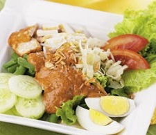 Gambar resep gado-gado siram Jawa Timur