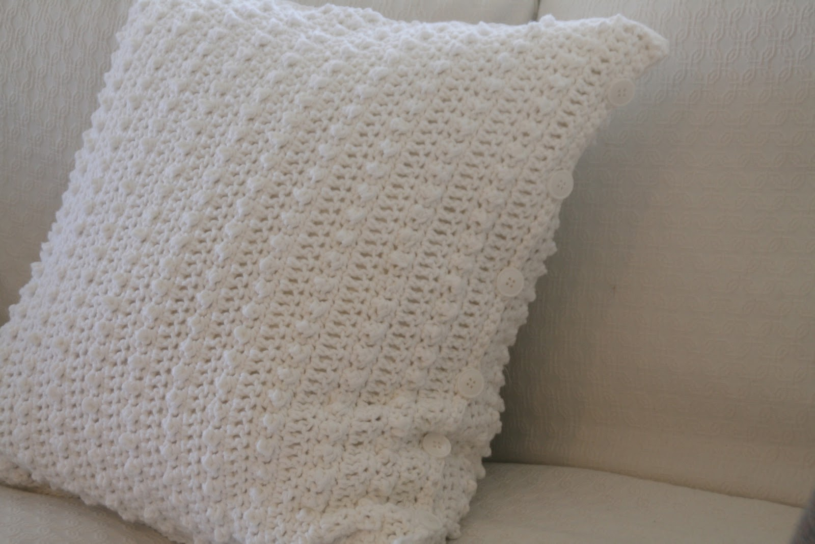 crochet cushion covers instructions