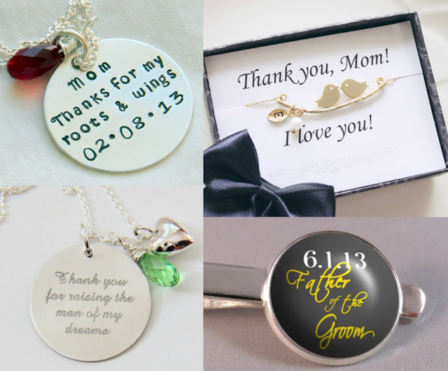 Great Thank You Gift Ideas for your Parents on your wedding day ...