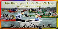 RISULTATI DELLE 5 REGATE FESTA GRANDA DE SANT'ANDREA 2013