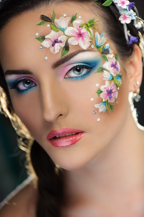 Face Art Beauty Or You Can Say Face Painting Art ~ Funky Pics World