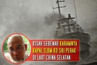 Tragedi Kapal KD Sri Perak Karam di Laut China Selatan