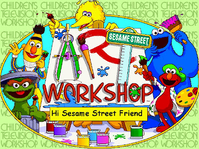 Free Sesame Street PowerPoint Backgrounds 4