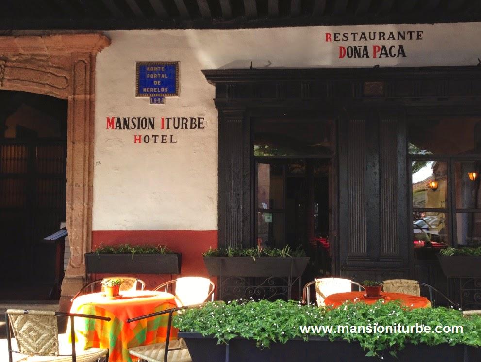 Nuestro Restaurante en Pátzcuaro frente a la Plaza Vasco de Quiroga