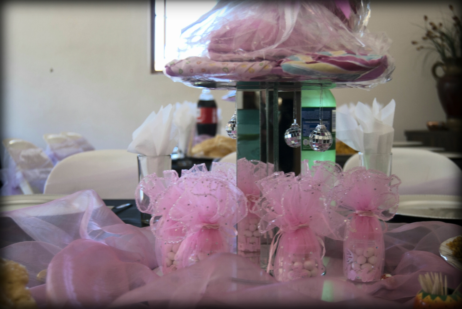 venue inclusive of full baby shower or bridal shower decor and