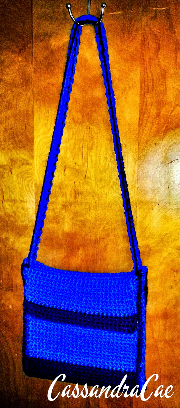 Homemade Crocheted Messenger Bag