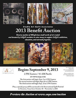 2013 SAQA Benefit Auction