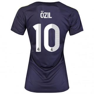 Nuevo Camiseta de Ozil 2012-13 Camiseta+de+Ozil+de+Mujer+del+Real+Madrid+20122013+Segunda+Equipaci%C3%B3n