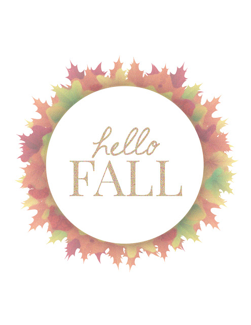 Free Autumn Printables || Blogtober