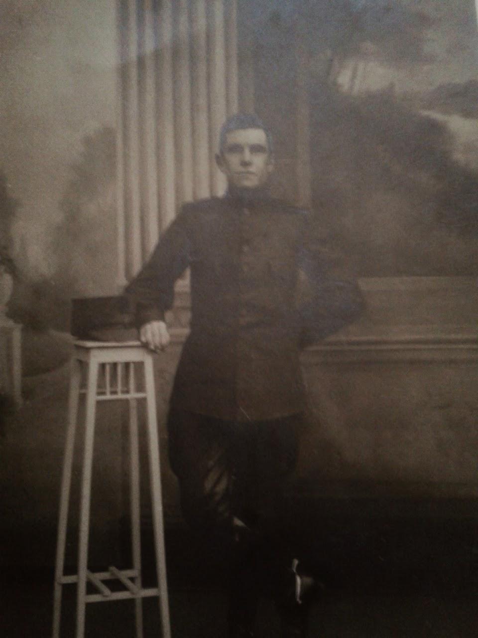 Wachtmeester Eerste Wereldoorlog