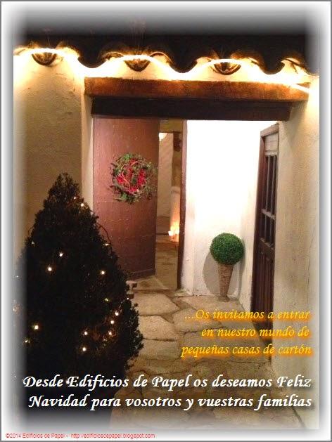 Feliz Navidad desde Edificios de Papel