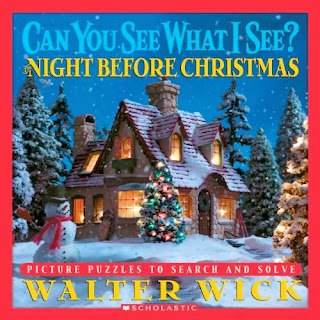 bookcover of Can You See What I See? The Night Before Christmas by Walter Wick