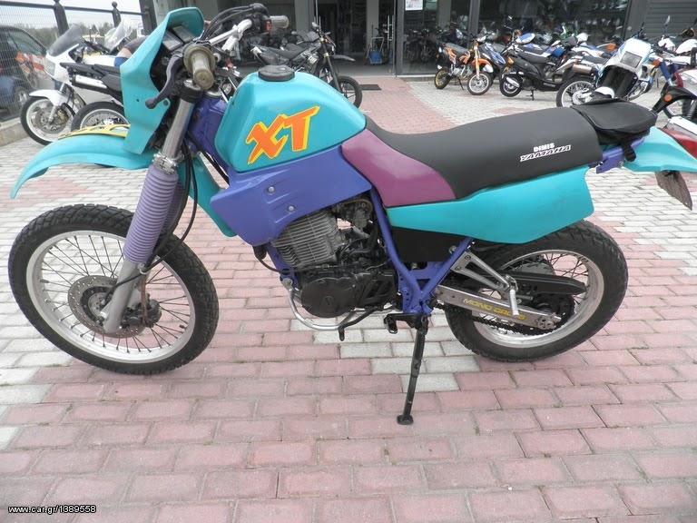 Analisis de Maquinas: Honda XL 600 V Transalp (1987 - 1999)