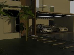 Casa 3D Studio Max 2012