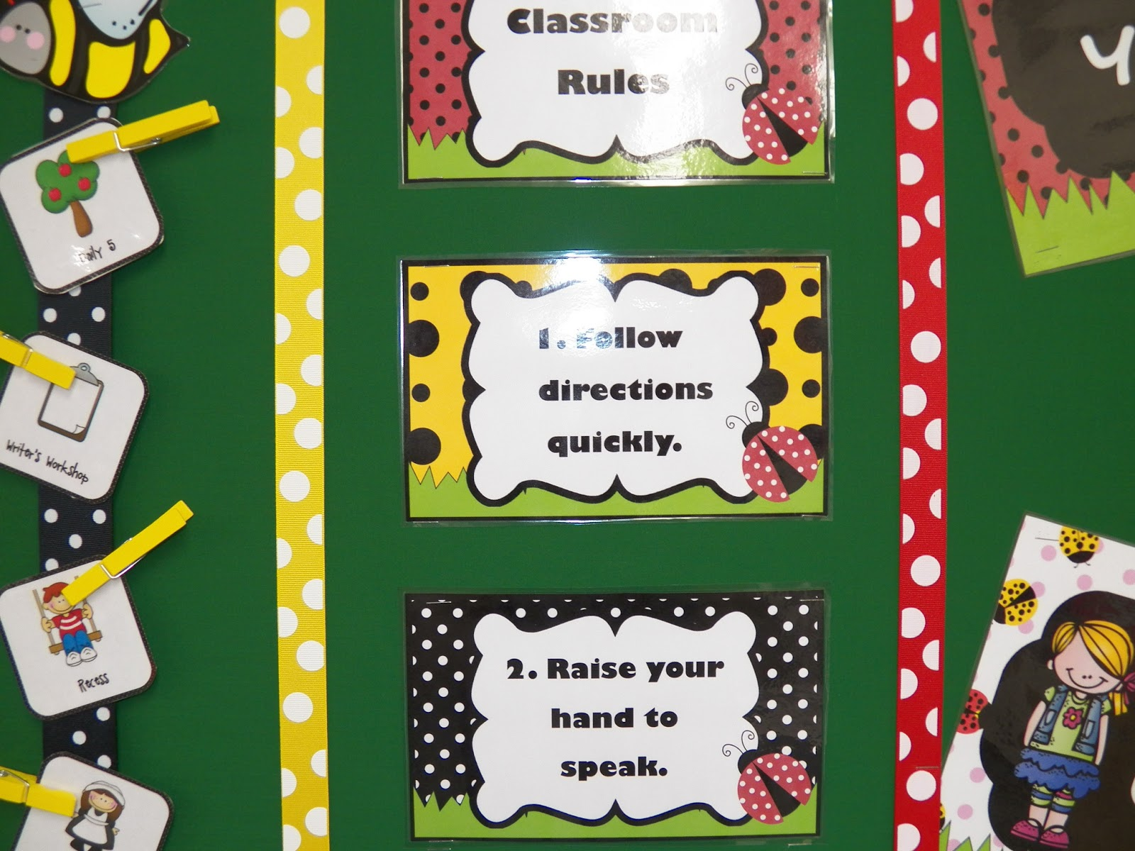 Ladybug Classroom Decor ~ Teaching round up ladybug ideas and freebie